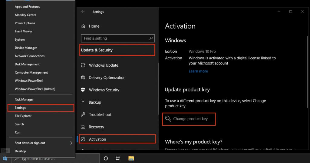 Ghid Activare Windows 10