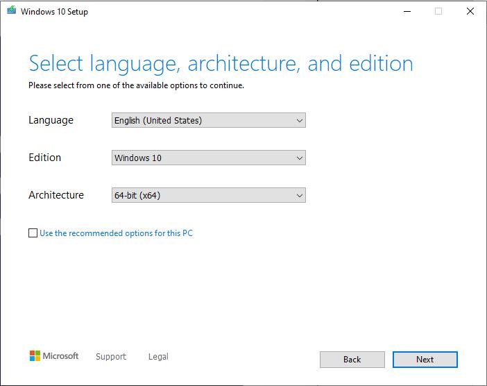 Ghid Instalare Windows 10 3